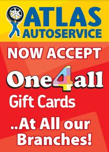 Atlas Autoservice accepts One4all vouchers